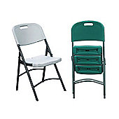 Palm Springs 2 X Foldable Picnic Camping Chairs Green
