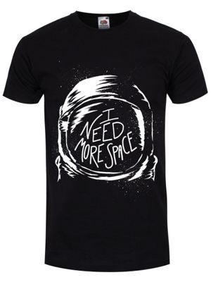 I Need More Space Men's T-shirt, Black