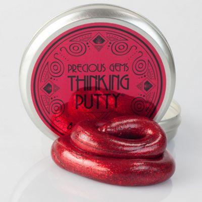 Crazy Aaron's Thinking Putty - Burmese Ruby - 8cm Tin - Precious Gems