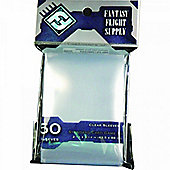 Fantasy Flight Supply Standard Card Game 50 Sleeves Grey - Pack of 10