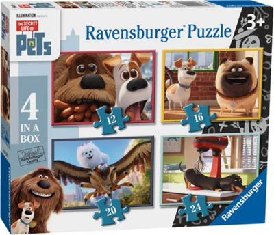 The Secret Life of Pets - 4 in 1 Puzzle