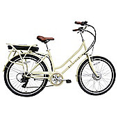 Viking Downtown 36V 26 Inch Wheel Cream Electric Bike