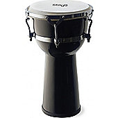 Stagg 10 Fibreglass Djembe Black