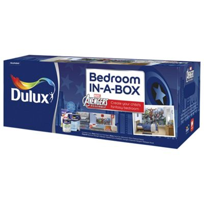 Dulux Marvel Avengers Bedroom in a Box. Buy Dulux Marvel Avengers Bedroom in a Box from our Emulsion Paint