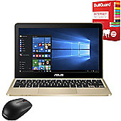 "ASUS Vivobook E200HA 11.6"" Laptop Intel Atom x5 Z8300 2GB 32GB Win 10 With Internet Security & Mouse"