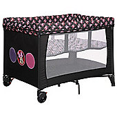OBaby Disney Bassinette Travel Cot (Minnie Circles)