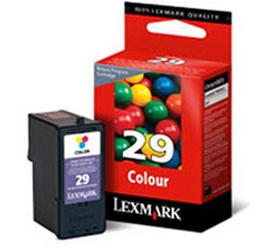 Lexmark No 29 Colour Return Program Print Cartridge