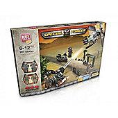 Block Tech Special Forces Jungle Patrol Outpost 207 Pieces