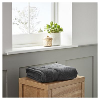 Fox & Ivy Supremely Soft Charcoal Hand Towel