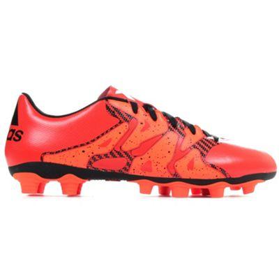adidas X 15.4 FxG Firm Ground Mens Football Soccer Boot Bold Orange - UK 10