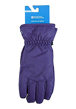 Mountain Warehouse Womens Gloves with Textured Palm for Better Grip - S/M/L/XL - Purple