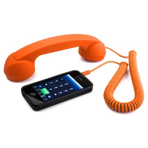 Native Union Moshi Moshi POP Phone (Orange) for iPad/iPhone 3G, 3GS, 4 and 4S