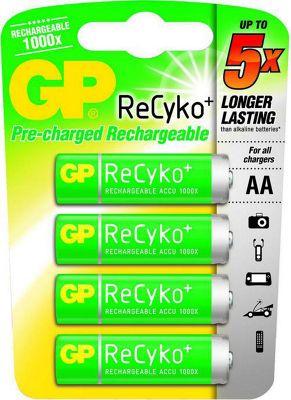 GPI International GP ReCyko+ Mignon 2050 mAh, 4 pc1.2 VHR6, HR06, CEF80, RB104358