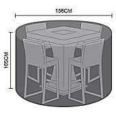 Nova 4 Seat Bar Set Outdoor Garden Patio Furniture Protective Cover