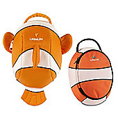 LittleLife Animal Toddler Daysack and Lunch Pack Clownfish