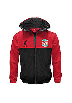 Liverpool FC Boys Shower Jacket - Red