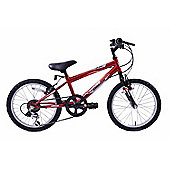 "Professional Blast 18"" Wheel Mountain Bike Boys Red"