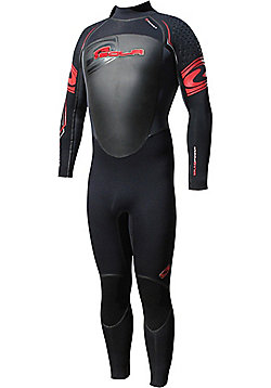 Sola 5mm Full Wetsuit - Red