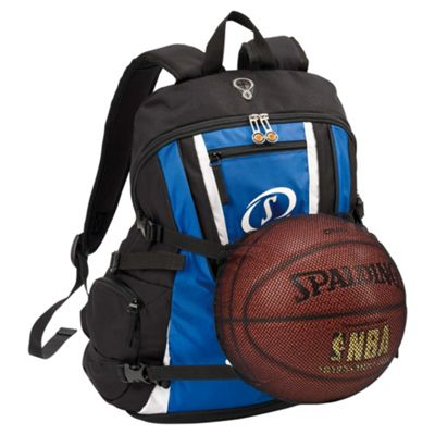 Spalding Backpack, Royal/Black/White