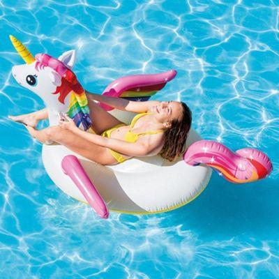 Unicorn Inflatable Giant Swimming Pool Ride-on