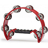 Stagg TAB-2 Half Moon Tambourine - Red