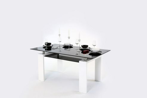 Metro (160cm) Dining Table White