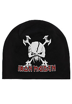 Iron Maiden The Final Frontier Black Beanie - Black