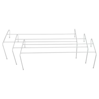 Tesco Value Radiator Clothes Airer 3 Pack