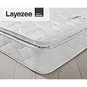 Layezee by Silentnight Calm Pillow Top Mattress