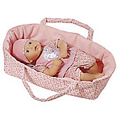 My First Baby Annabell in Moses Basket