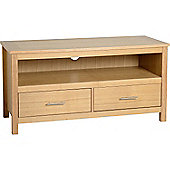 Valufurniture Oakleigh 2 Drawer Flat Screen TV Stand