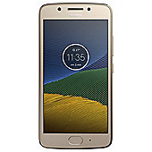 Tesco Mobile Moto G5 Gold