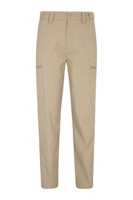 Mountain Warehouse Trek Stretch Mens Trousers - Short leng ( Size: 30 )