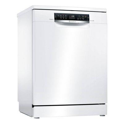 Bosch Freestanding Dishwasher Serie 6 PerfectDry, SMS67MW00G, White