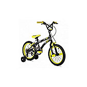"X-GAMES BMX FS 16"" BLACK/YELLOW"