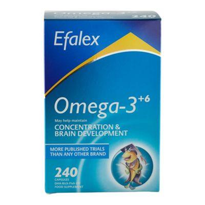 Efamol Efalex Omega-3 +6 240 Capsules
