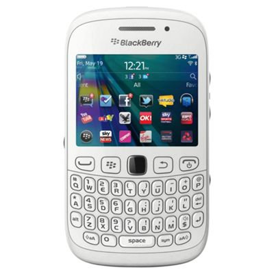 Research In Motion 9320 3G BlackBerry Curve Smartphone White