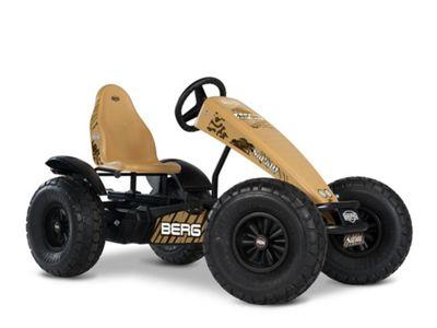 Pedal Go Kart - Brown Off Road Go Kart with 3 Speeds - BERG Safari Off-Road