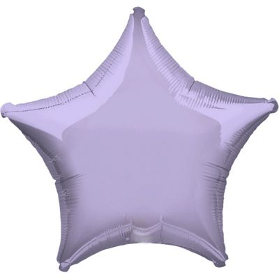 Pastel Lilac Star Balloon - 32 inch Foil