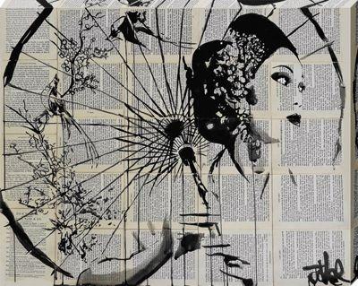Loui Jover Blossom Canvas Print 40x50cm