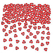 Heart Gem Beads for Children to Create Bracelets and Make Jewellery (Pack of 350)