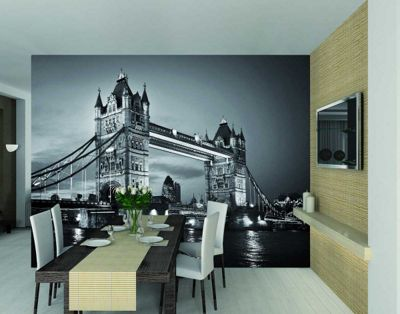 1Wall Giant London Tower Bridge Wall Mural
