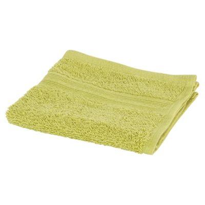 Tesco Face Cloth Lime