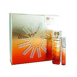 2bc561d86fd661 Hugo Boss Orange Sunset Eau De Toilette 50ml and Eau De Toilette 7.4ml Gift  Set ...