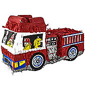 Fire Engine Pinata - 48cm long