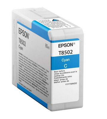 Epson T850200 80ml Cyan ink cartridge