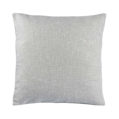 Homescapes Textured Boucle Light Grey Cushion Cover, 60 x 60 cm