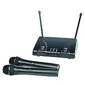ProSound VHF Twin Handheld Wireless Microphone Kit