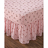 Dreams n Drapes Patchwork Pink Fitted Valance Sheet - Pink