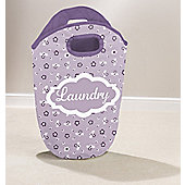 Country Club Laundry Hamper, Lilac Ditsy